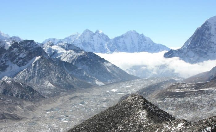 Everest Base Camp trek via Gokyo and Chola Pass