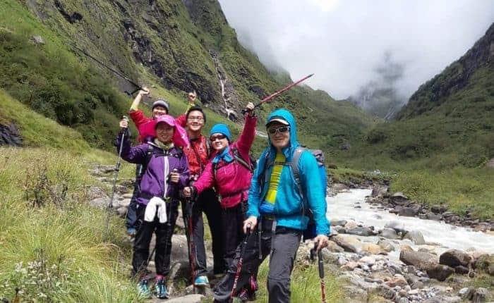 Annapurna circuit jomsom trek