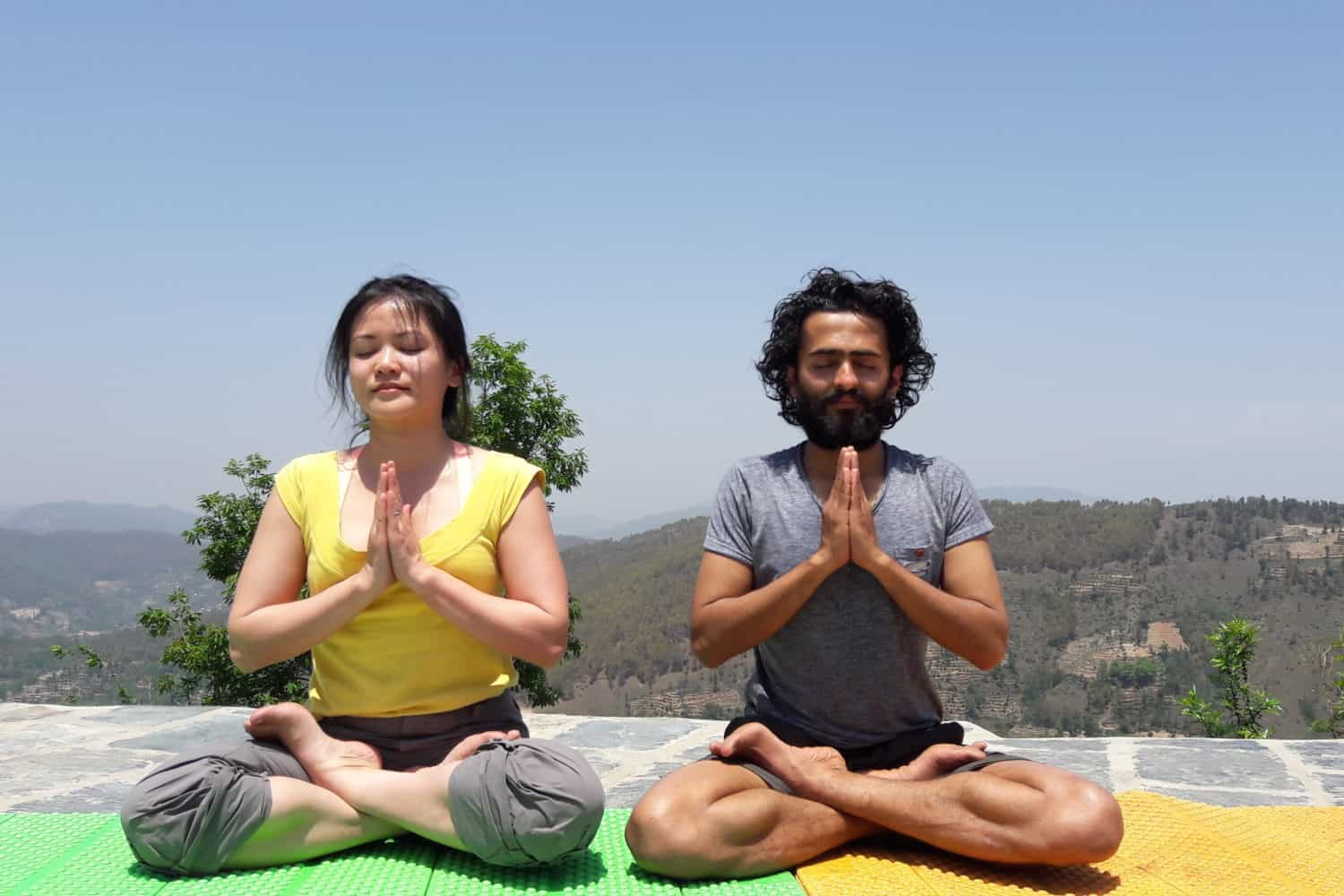 7 days Yoga Retreat and trek around the Kathmandu valley tour