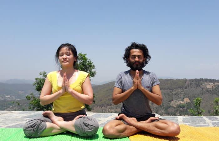 Yoga in Trek
