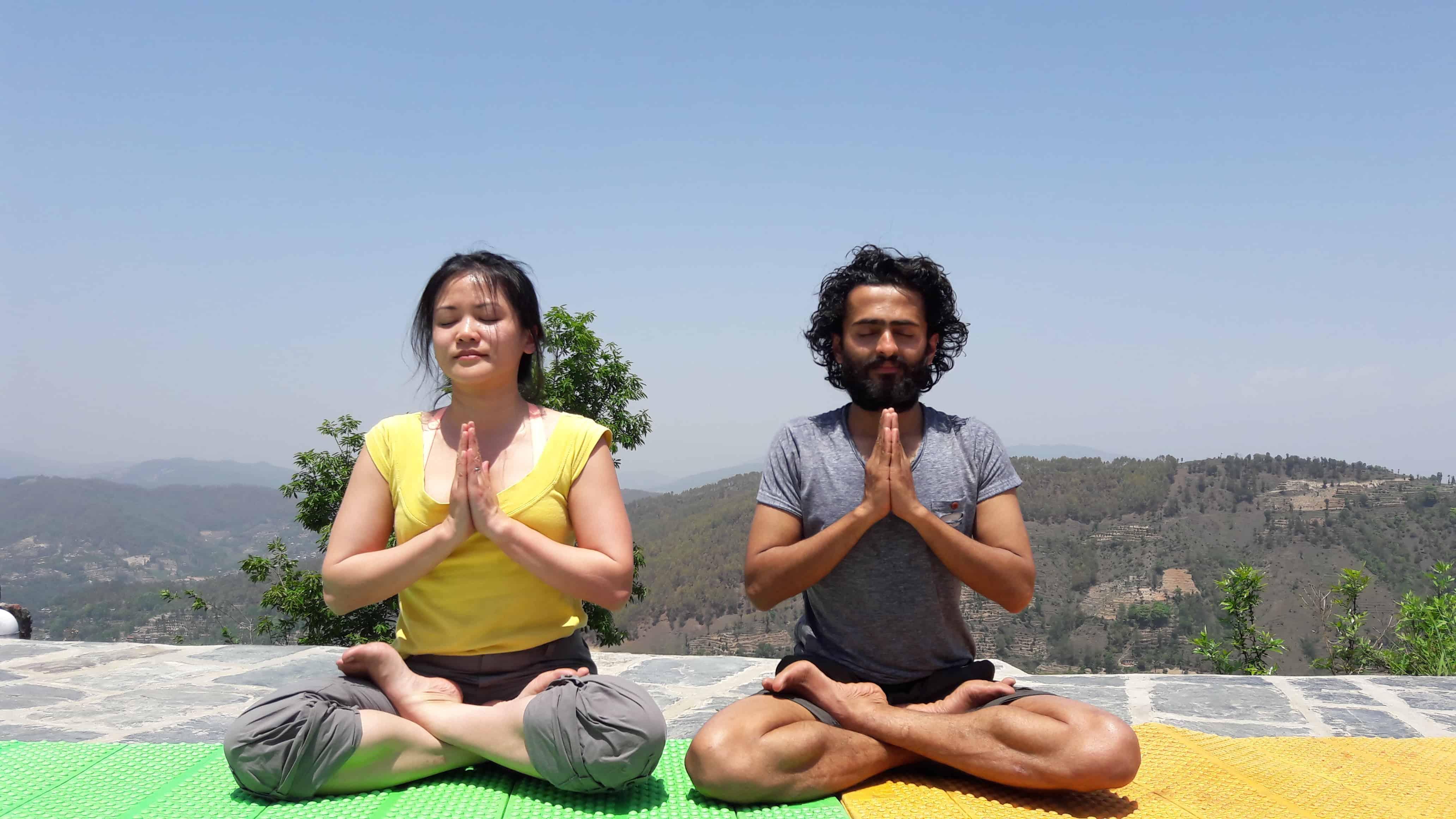 7 days Yoga Retreat and trek around the Kathmandu valley tour