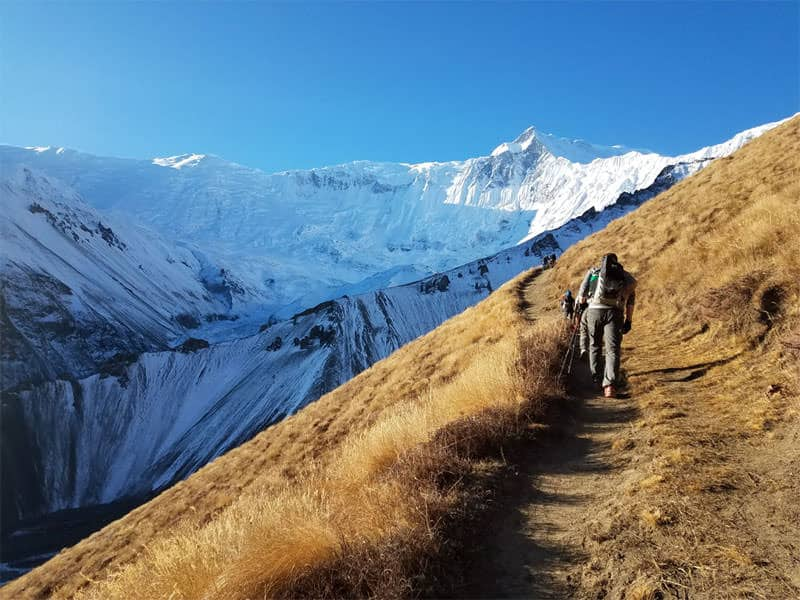 Tilicho lake and Thorung La Pass trek in Annapurna region